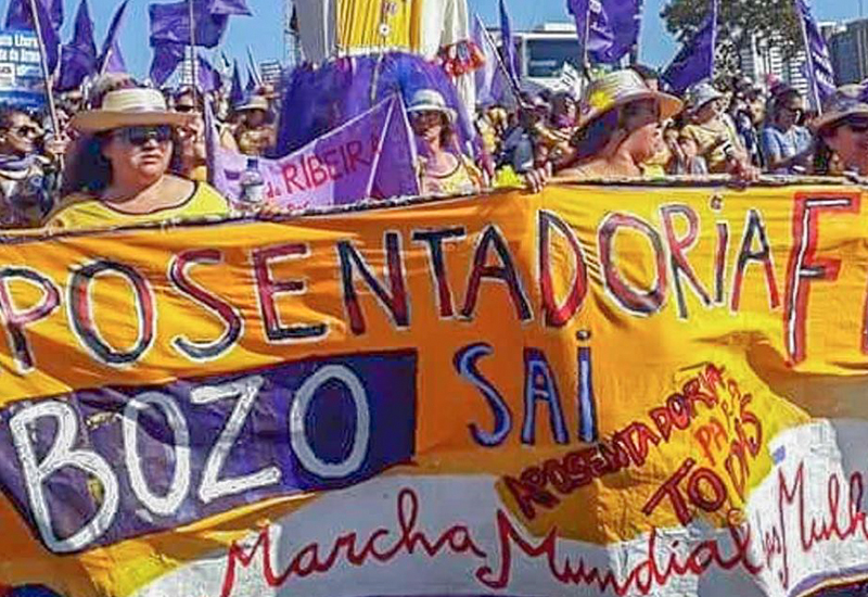 Mulheres da FACESP na 6ª Marcha das Margaridas