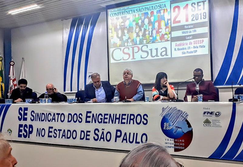 """FACESP presente no Ato de Lançamento da """"CONFERÊNCIA SÃO PAULO SUA"""""""