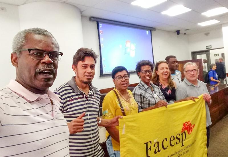 FACESP presente em Plenária de Delegados, Conselheiros e ativistas na Carava em Defesa do SUS