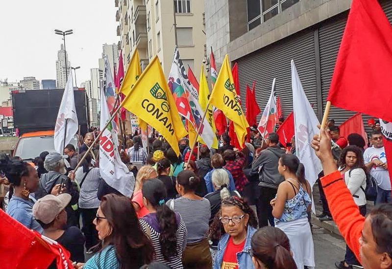 Fotos – FACESP/CONAM na Jornada Nacional de luta por moradia em SP