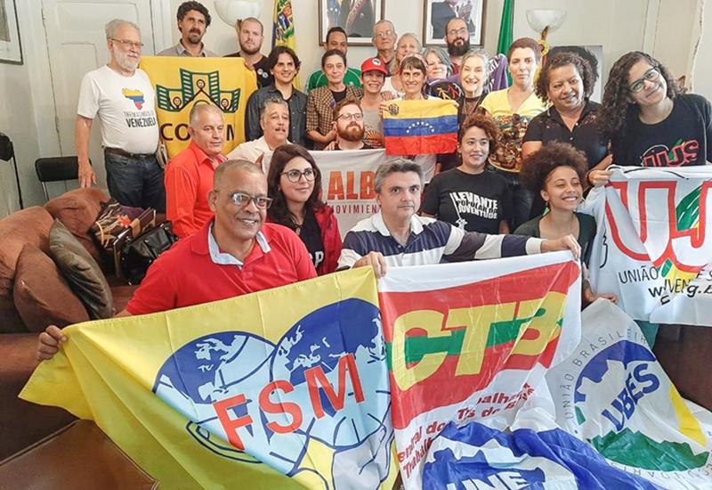 CONAM – Solidariedade ao povo da Venezuela