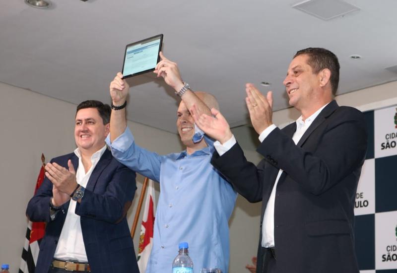 """Prefeito Bruno Covas lança Novo Programa de Habitação """"Pode Entrar"""", que teve a contribuição de Conselheiros do MUHAB"""