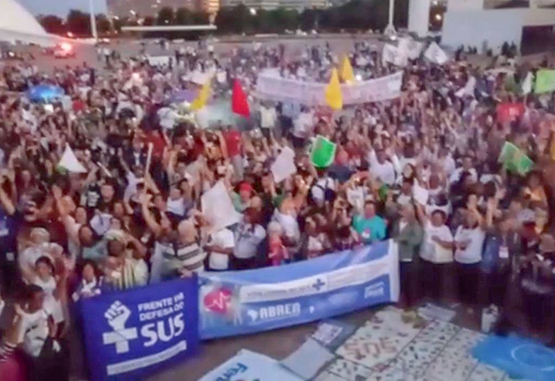 FACESP FORTALECE CONAM NA 16ª CONFERÊNCIA NACIONAL DA SAÚDE