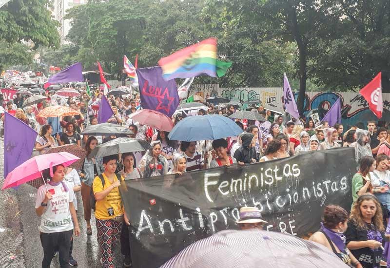 No dia de Luta das Mulheres MDM e FACESP reafirmam a Defesa da Democracia