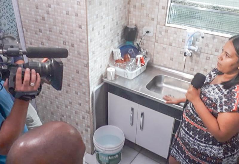 """Denúncia de falta d'água no Guarapiranga durante a pandemia, termina  com Vitória da """"Comunidade do Cai Cai"""""""