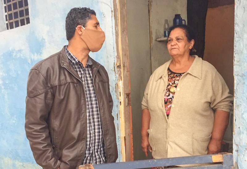 Mais uma ação de solidariedade na Comunidade do Pinheiral
