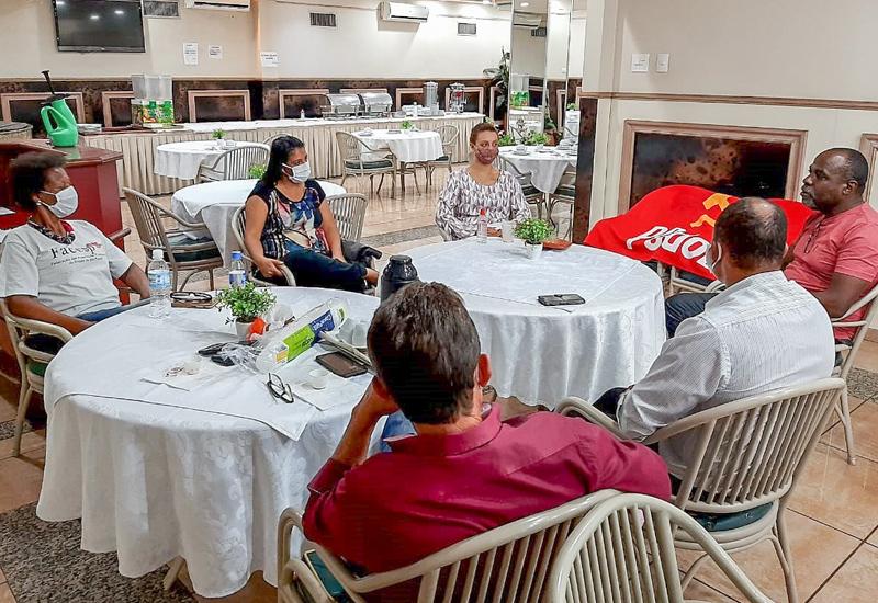 FACESP vai ao interior dialogar com suas entidades, ver as realizações  e organizar ações de combate ao COVID19 nas comunidades