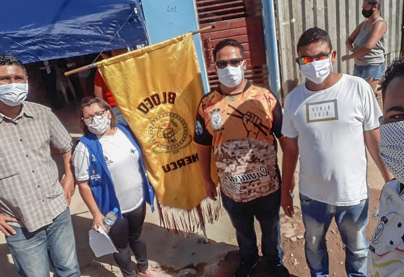 FACESP, MDM e Bloco do Hercu fazem ação de solidariedade na periferia