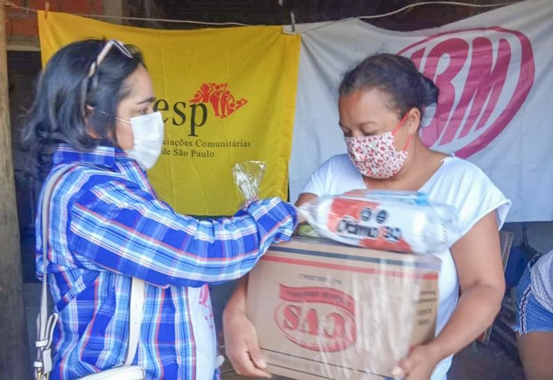 Em Campinas, ações de solidariedade e de conscientização da população durante a pandemia de COVID-19