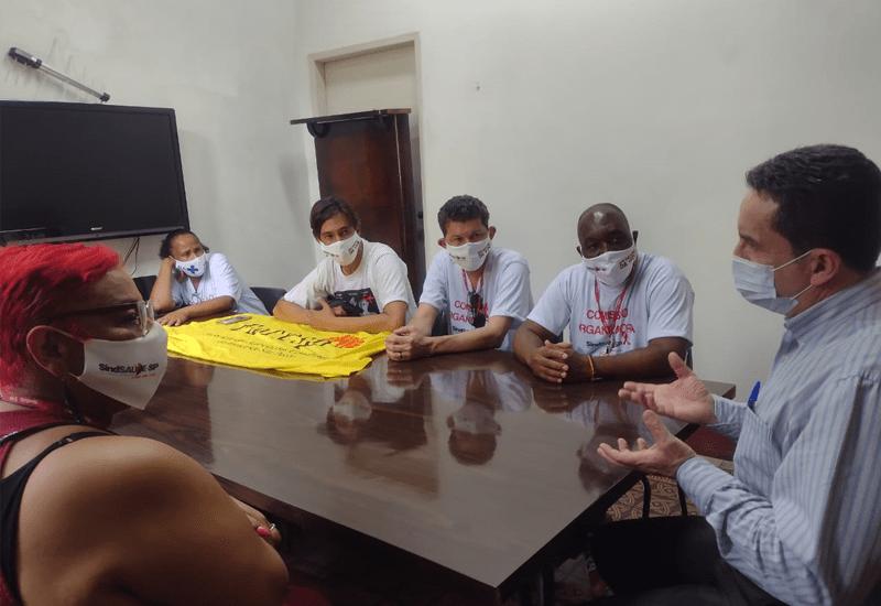 Ato unificado em reflexão ao Dia Mundial da Luta Contra a AIDS