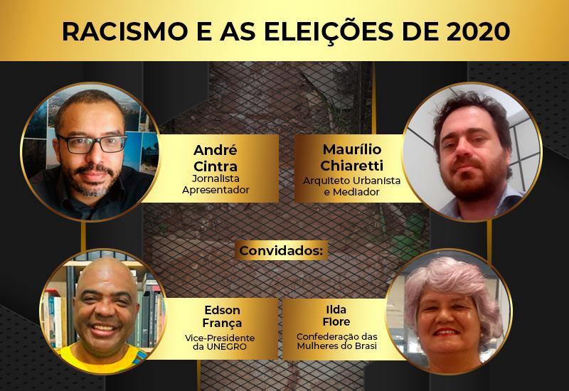 Programa Direitos Humanos e Cidades – Rádio Boa Musica FM | Racismo e as Eleições de 2020
