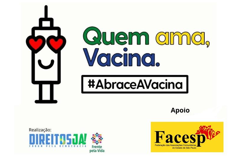 Campanha Abrace a Vacina