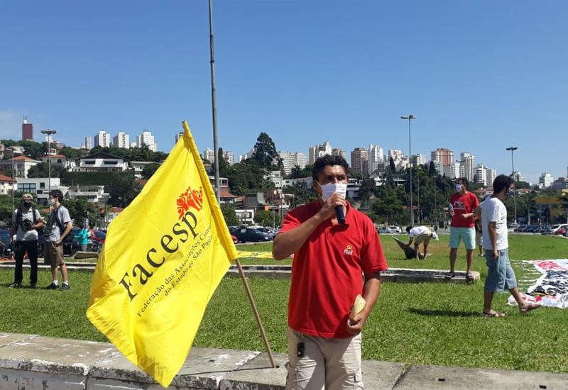 FACESP e o Movimento Comunitário Exigem: Vacinação Já, Auxílio Emergencial de 600 reais e Fora Bolsonaro!