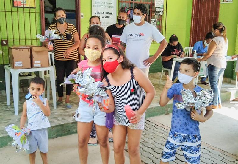 FACESP traz alegria à Páscoa de milhares de crianças durante a pandemia