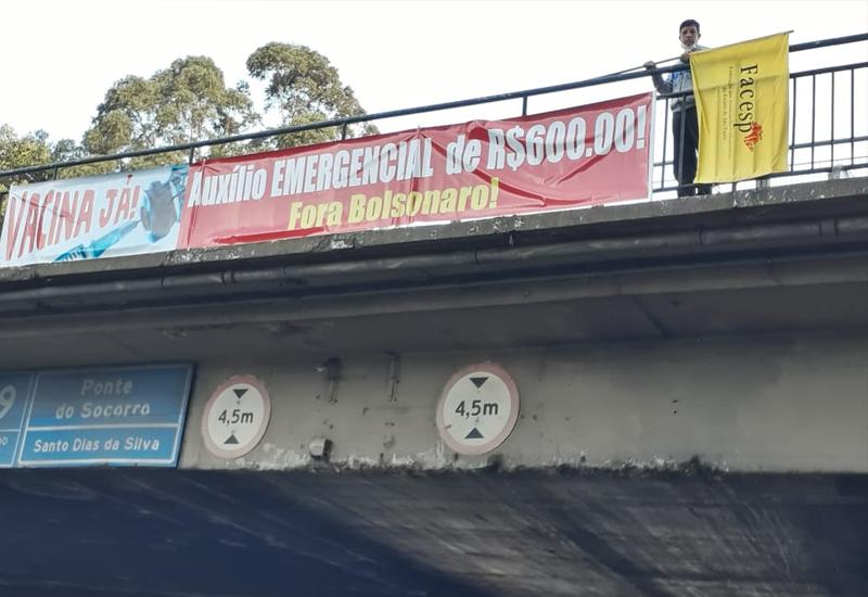 Movimentos antecipam o 1º de Maio e denunciam Bolsonaro