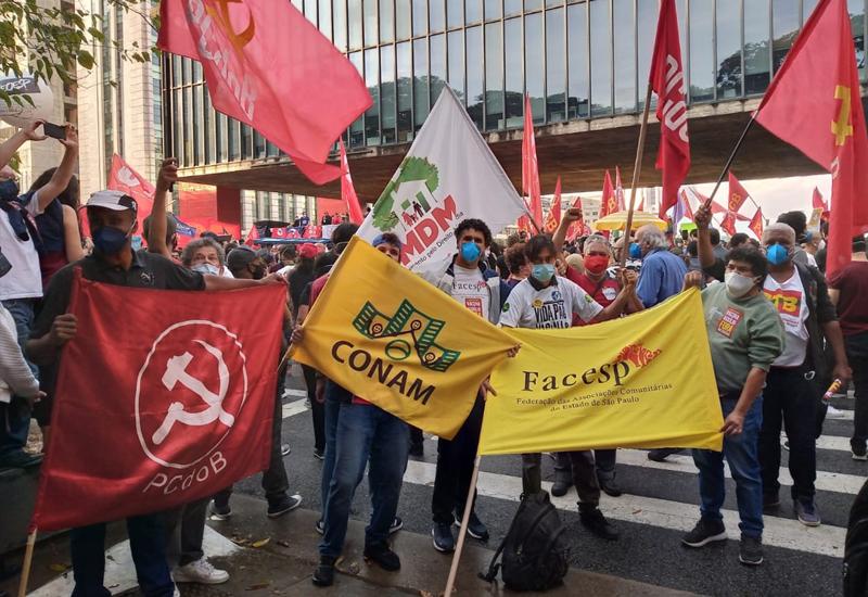 Movimentos Sociais de SP e do Brasil mandaram o recado…