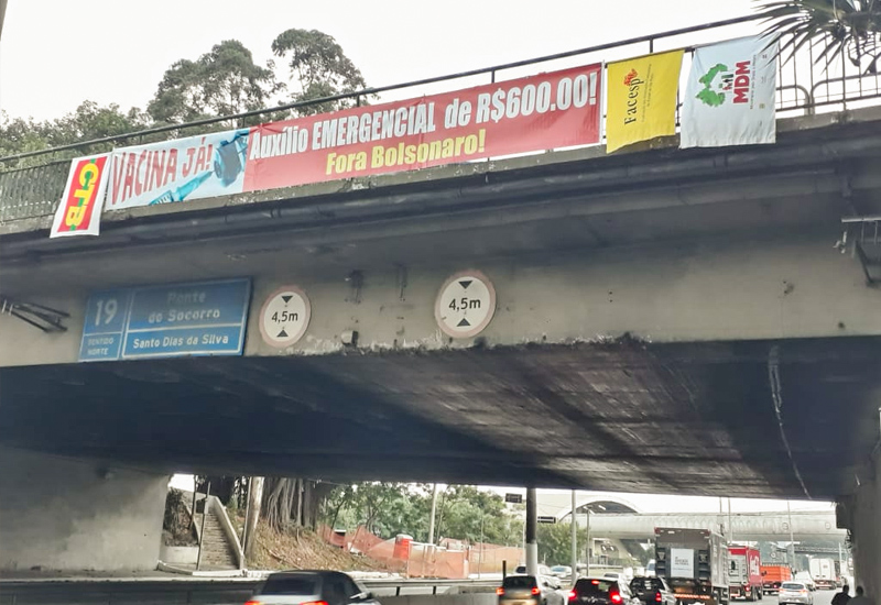 FACESP participa de FAIXAÇOS e amplia a resistência ao genocida Bolsonaro