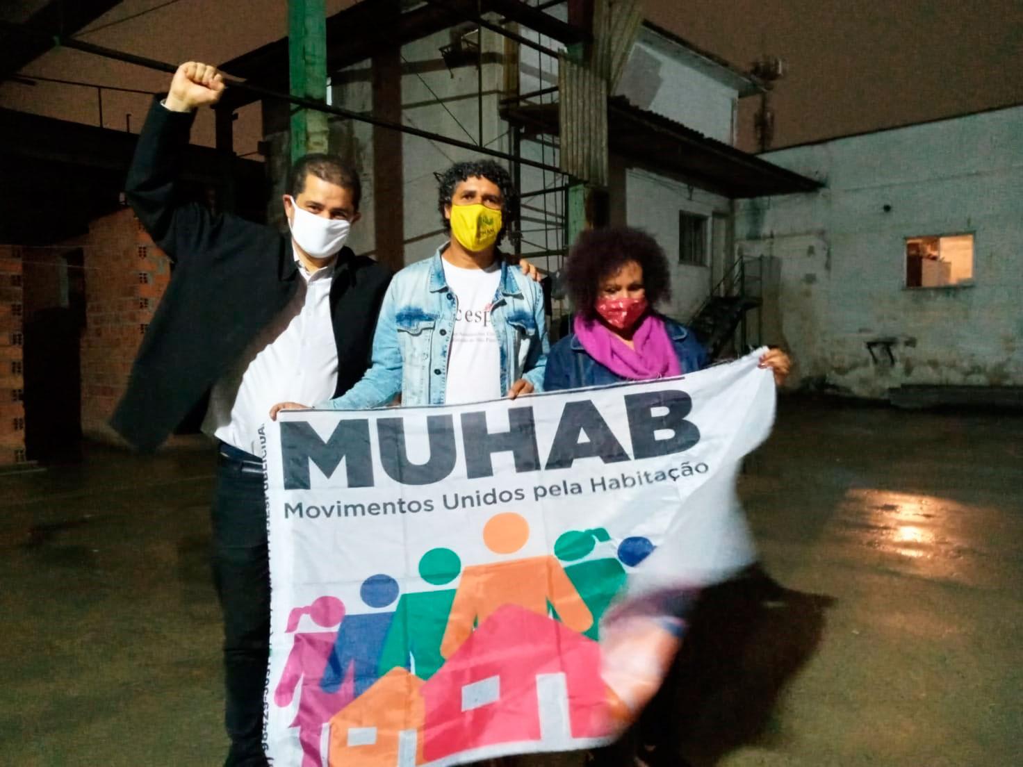 FACESP e MUHAB fazem assembleias em locais onde a moradia está ameaçada por despejos e desfazimento
